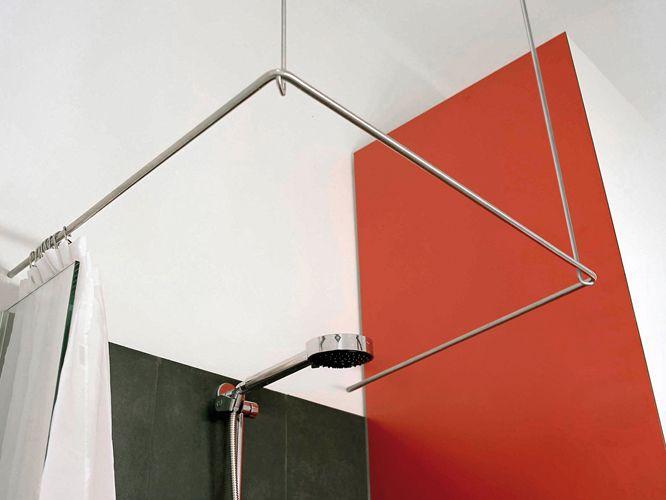PHOS Edelstahl Design: Duschvorhangstange U-Form #InteriorDesign ...