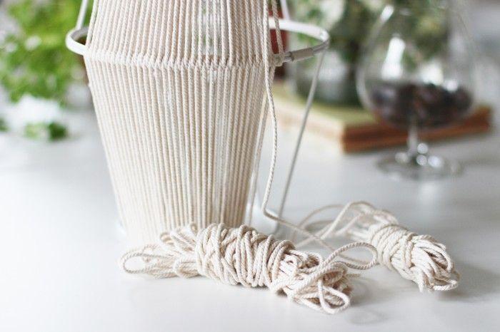 DIY lamp / lampa ikea hack | Hej Regina!