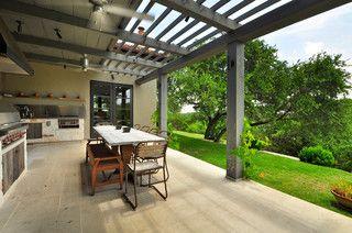 Las Lomas Residence - contemporary - patio - austin - by Cornerstone Architects