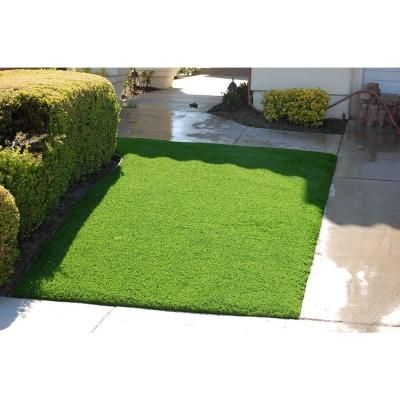 Greenline Jade 50 Artificial Grass Synthetic Lawn Turf Carpet For Outdoor Landscape 7 5 Ft X Custom Length Gljade5075ctl Lawn Turf Synthetic Lawn Artificial Grass Backyard