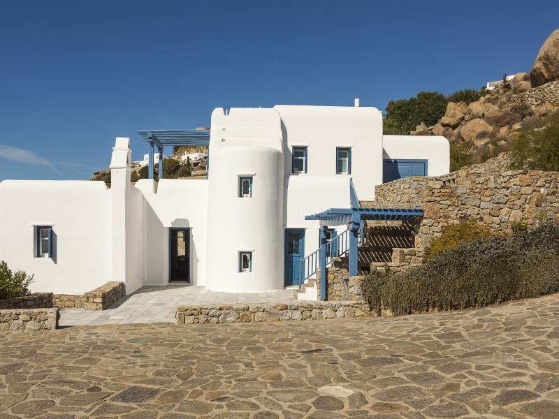 Meerblick Ferienhaus Mykonos VILLA NEMESIS 5