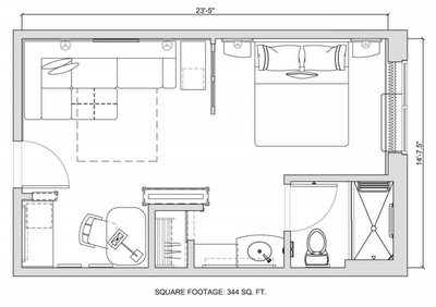 Average Studio Apartment Layout studio apartment layout. free studio apartment layout photo