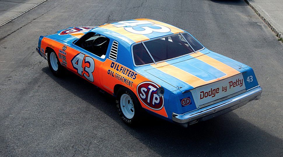 The King S Last Chrysler Nascar Race Cars Old Race Cars Nascar Cars