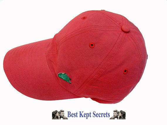 2e9e5ab400f9b Nike Red Pink Baseball Cap Authentic ref 1285 cotton NOT Copys ...