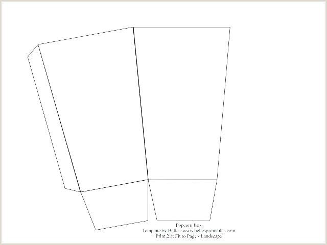 Printable Popcorn Kernel Template In 2020 Box Templates Printable Free Box Template Printable Popcorn Box Template