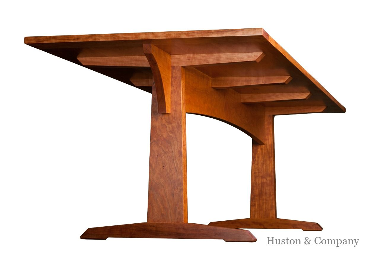 Gorgeous Strawbridge Dining Table By Huston U0026 Company. Custom Furniture.  Handcrafted. Maine.
