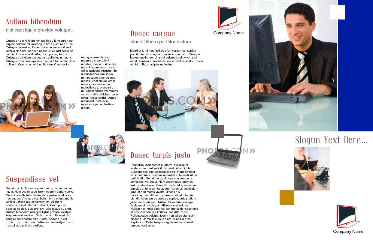 Awesome Marketing Brochure Templates Set   Marketing Brochure