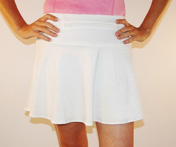 WhiteLinen Swing Style- XXS   Fitness   Sparkle skirt