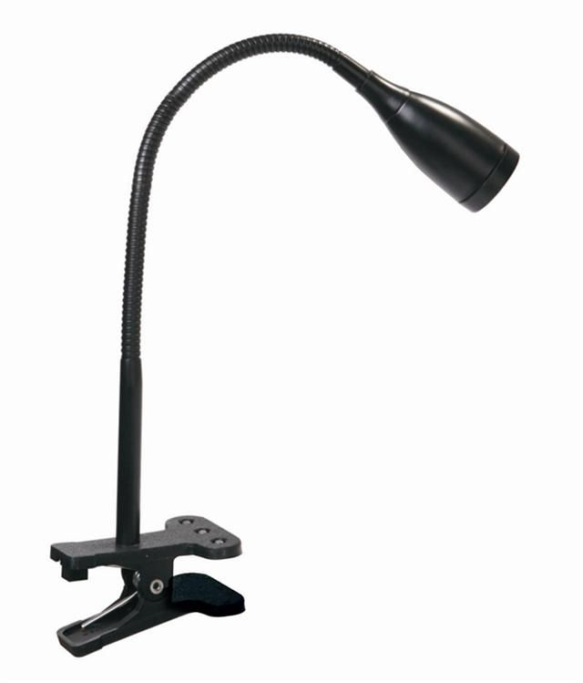 2 X LED Clip On Desk Lamp Flexible Reading Light Decorative Table Lamp  Bedside