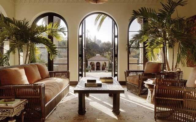 Salas estilo colonial