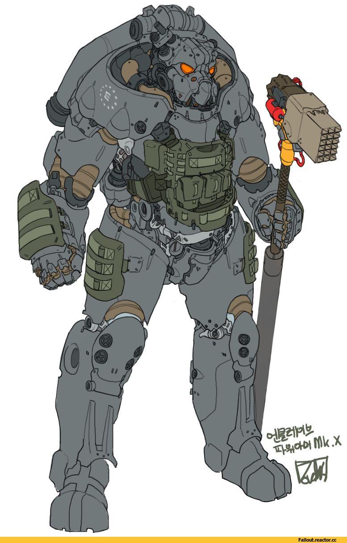 FalloutFallout ArtFallout 4Power Armor
