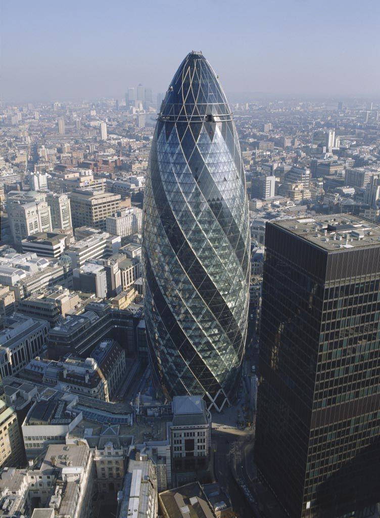 Swiss Re Headquarters, 30 St Mary Axe | Projects | Foster + Partners
