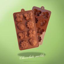15 de flores inseto forma molde de silicone bolo de chocolate(China (Mainland))