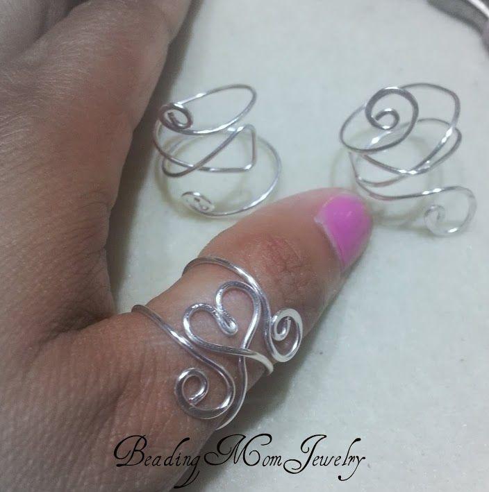 Heart adjustable cuff ring   JewelryLessons.com   Jewelry ...