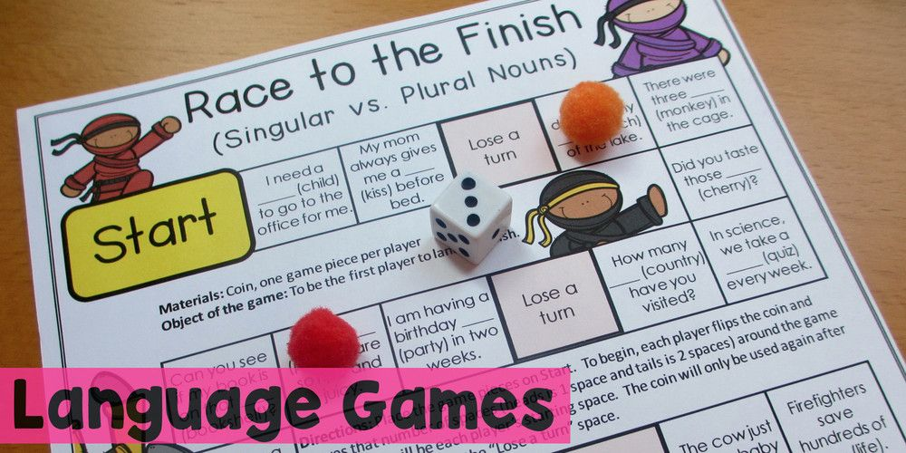 Language Games | Third Grade Reading | Pinterest | Language, Third ...