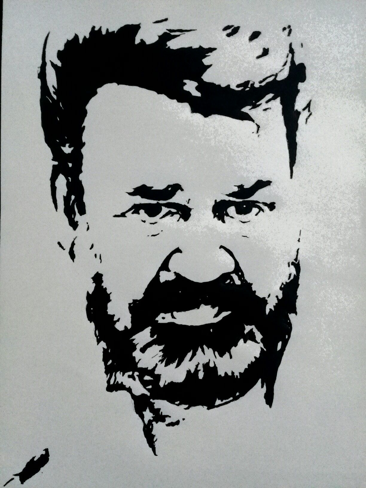Mohanlal drawing villan