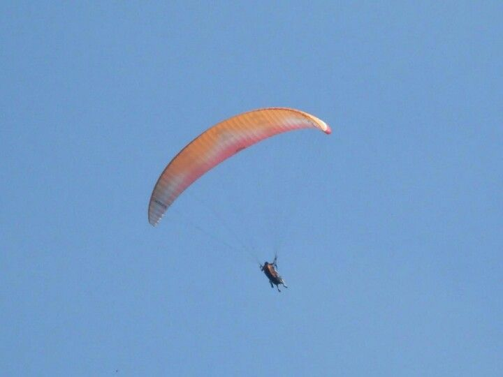 I really want to do paragliding again.