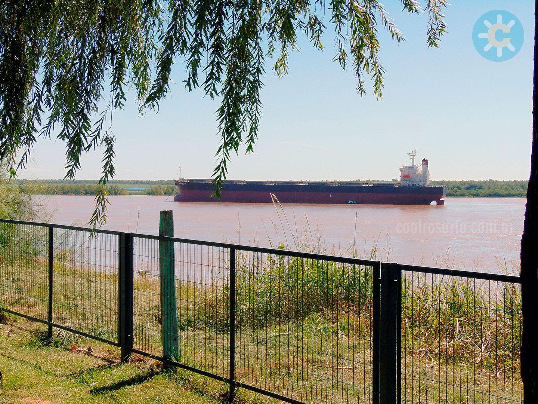 Río Paraná frente a Fray Luis Beltrán