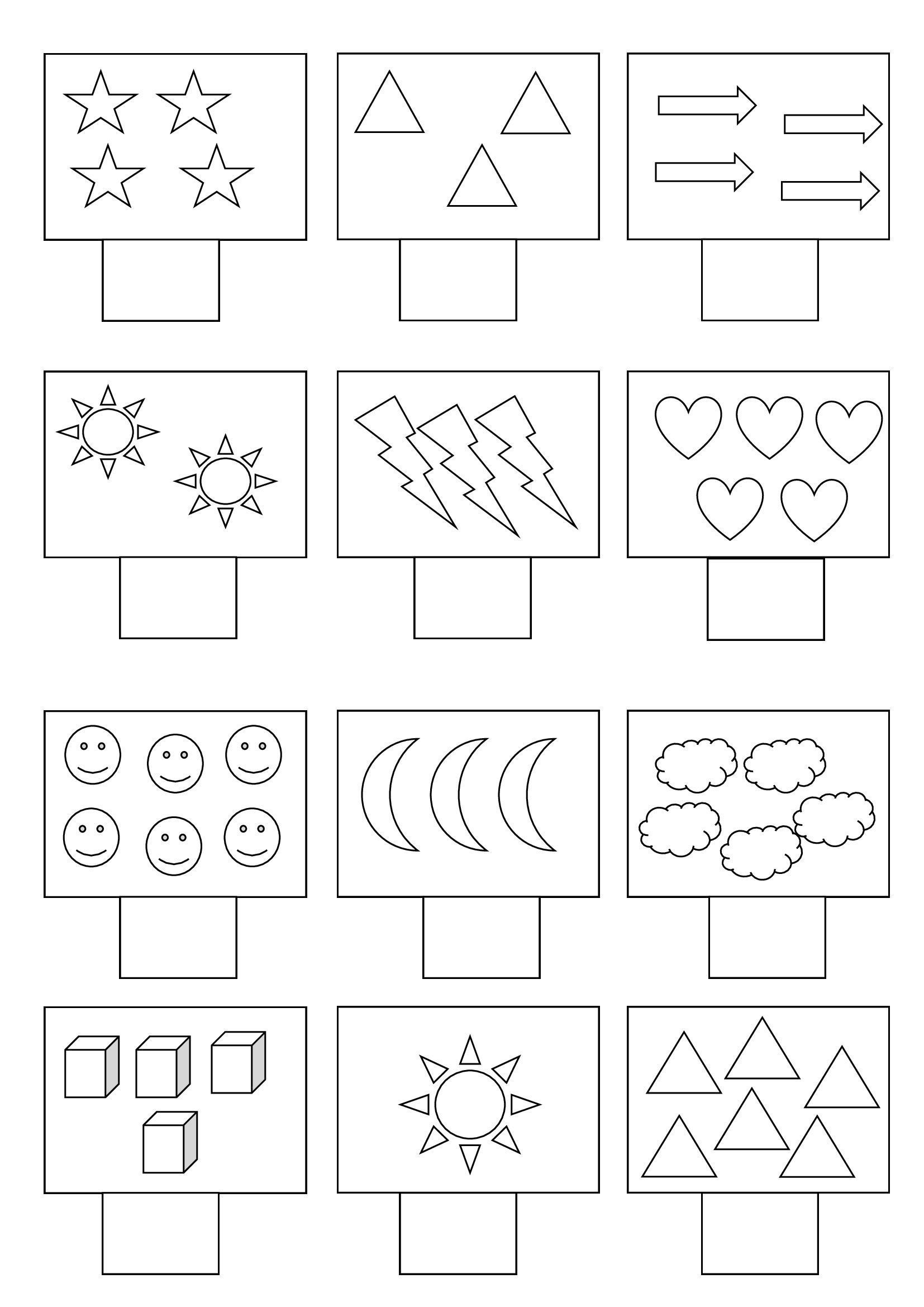 3 Math Worksheets For Lkg Saya Rakam Ala Ma