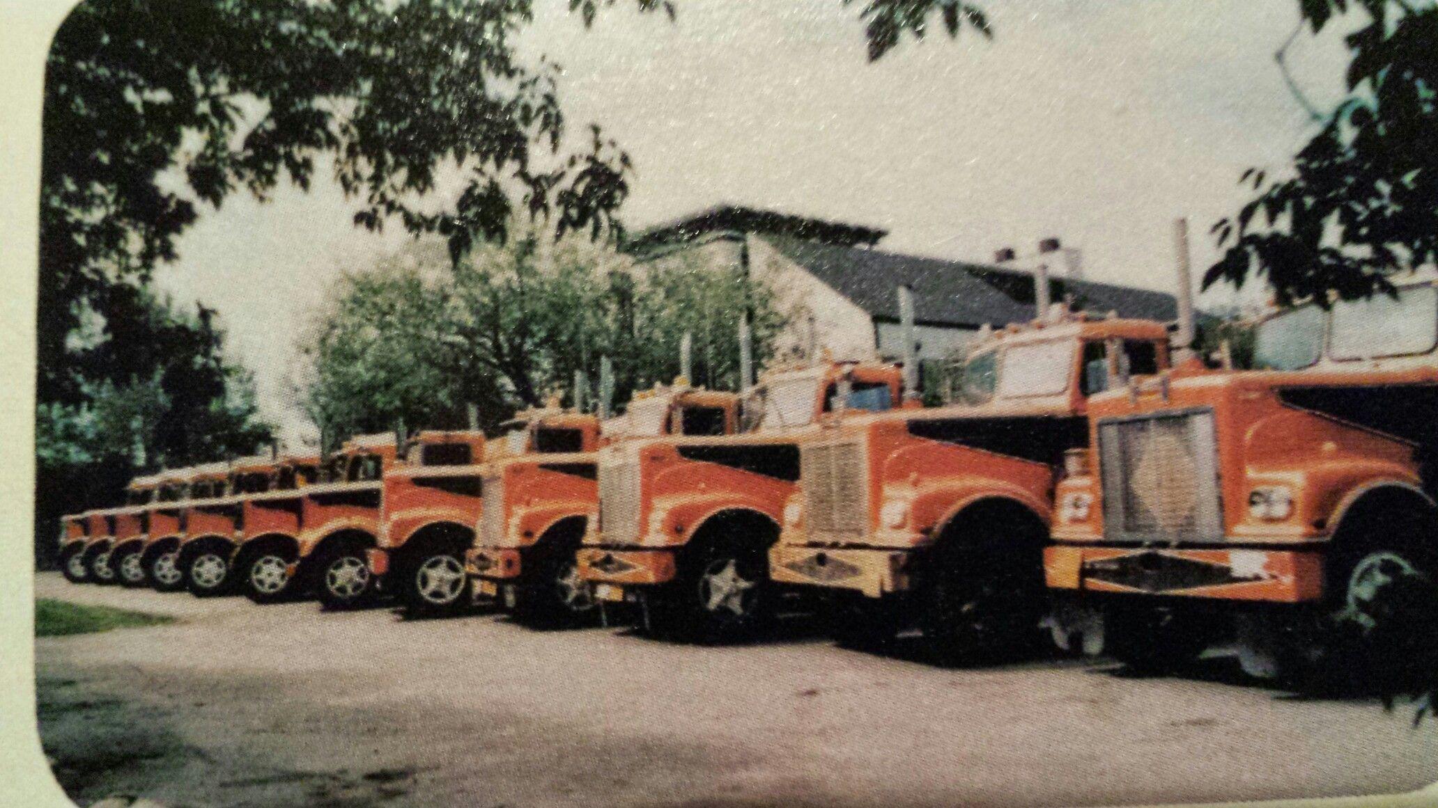 Northline Transport Edmonton Alberta Aprox 1975 Big Rig Trucks Big Trucks Cars Trucks