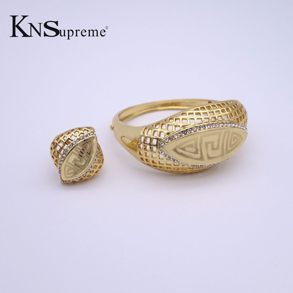 Click image to buy uc new dubai african beads jewelry set k gold