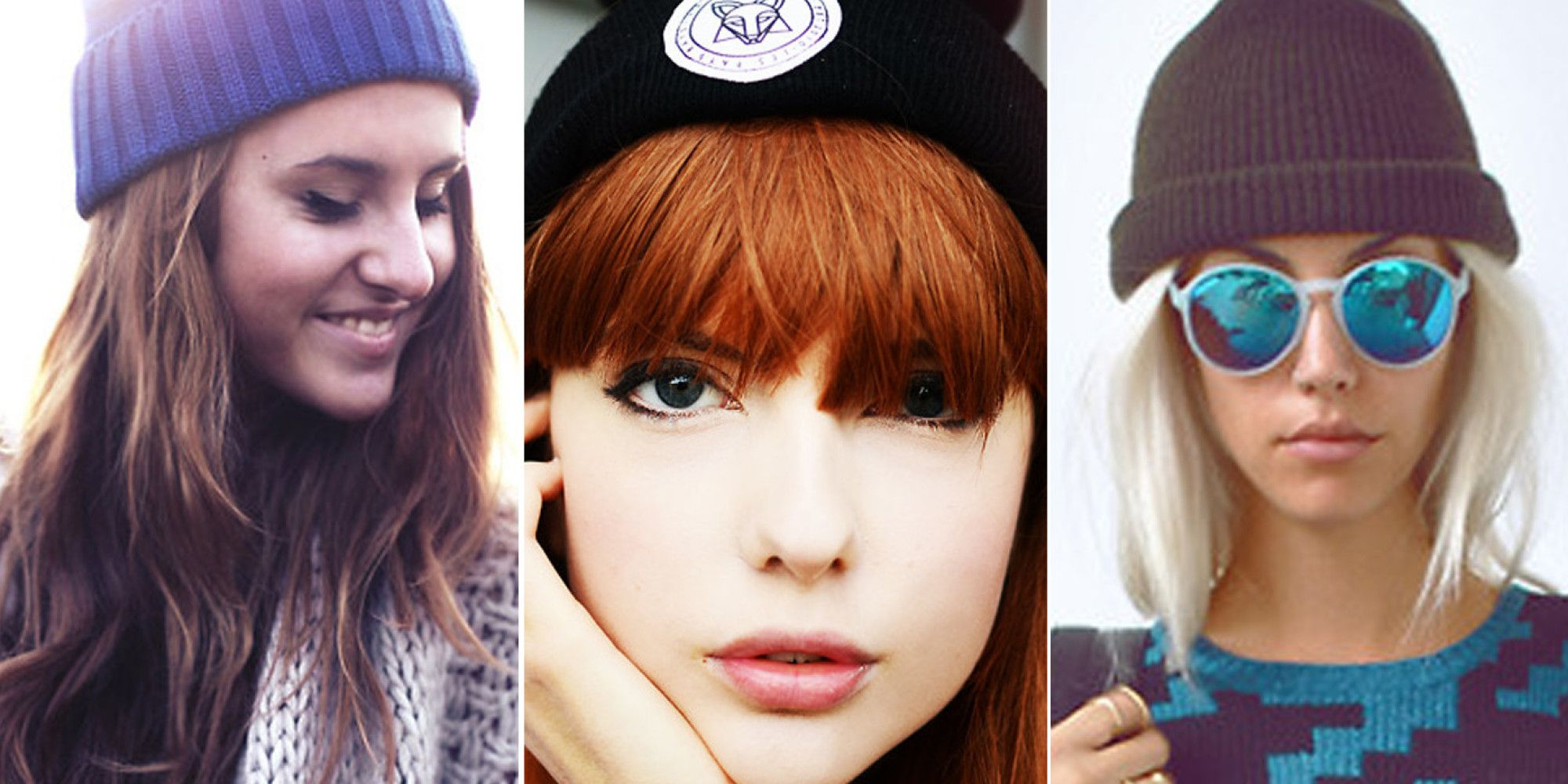 340a6442e20 5 Ways To Wear A Beanie Hat Without Trying Too Hard How To Wear Stockings
