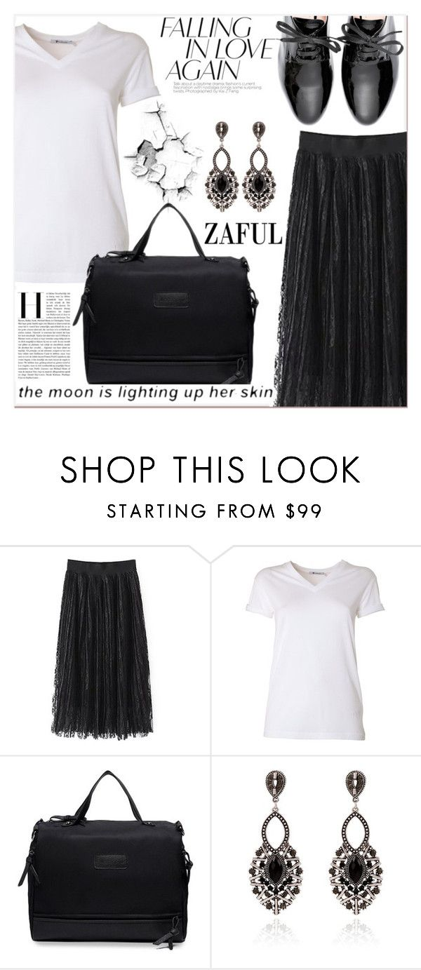 """www.zaful.com/?lkid=7011"" by lucky-1990 ❤ liked on Polyvore featuring T By Alexander Wang and Miu Miu"