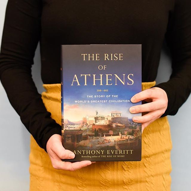 Need a news break? Learn about the birthplace of democracy in Anthony Everitt's new book THE RISE OF ATHENS. Out now! #bookstagram #riseofathens #anthonyeveritt #igbooks #newrelease #history #greece #democracy #government