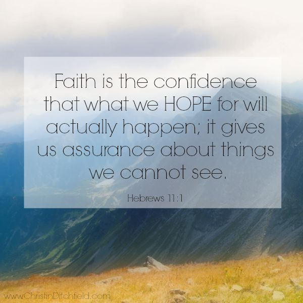 Bible Quotes About Hope Extraordinary Top Ten Bible Verses On Hope  Christin Ditchfield  Inspiration