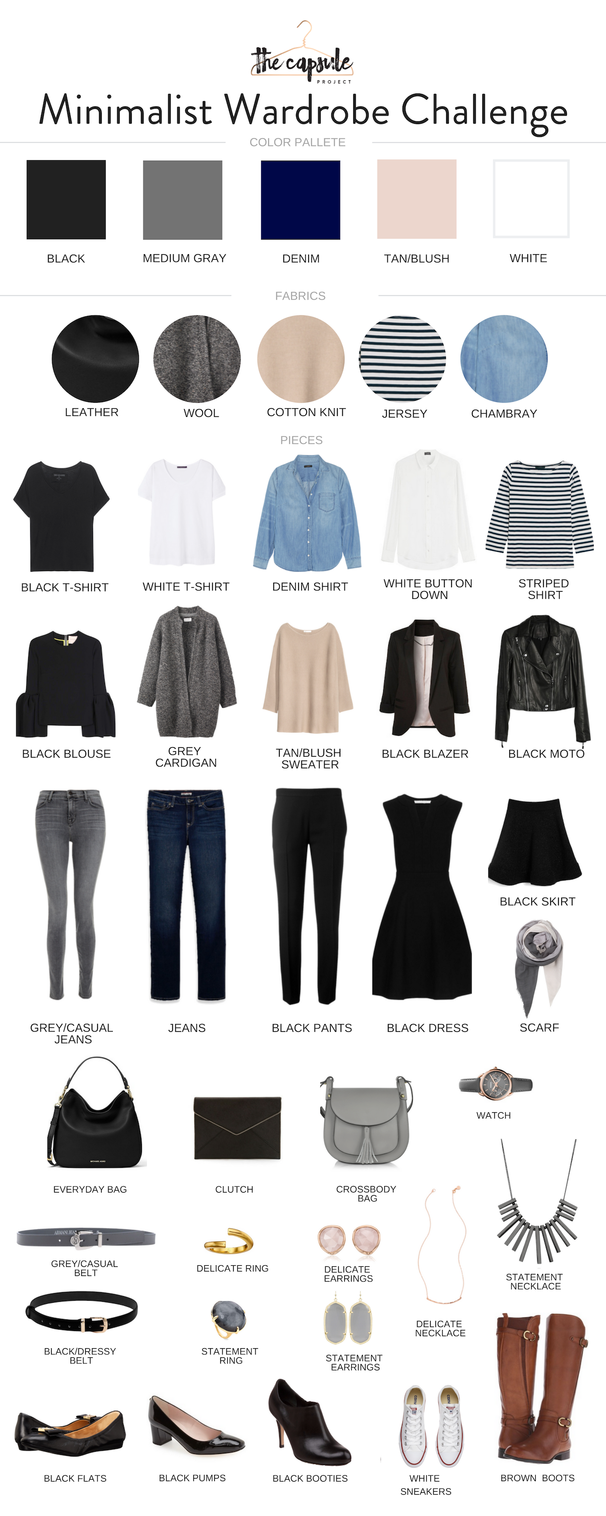 Photo of How to Dress Better with the Minimalist Wardrobe Challenge — The Capsule Project