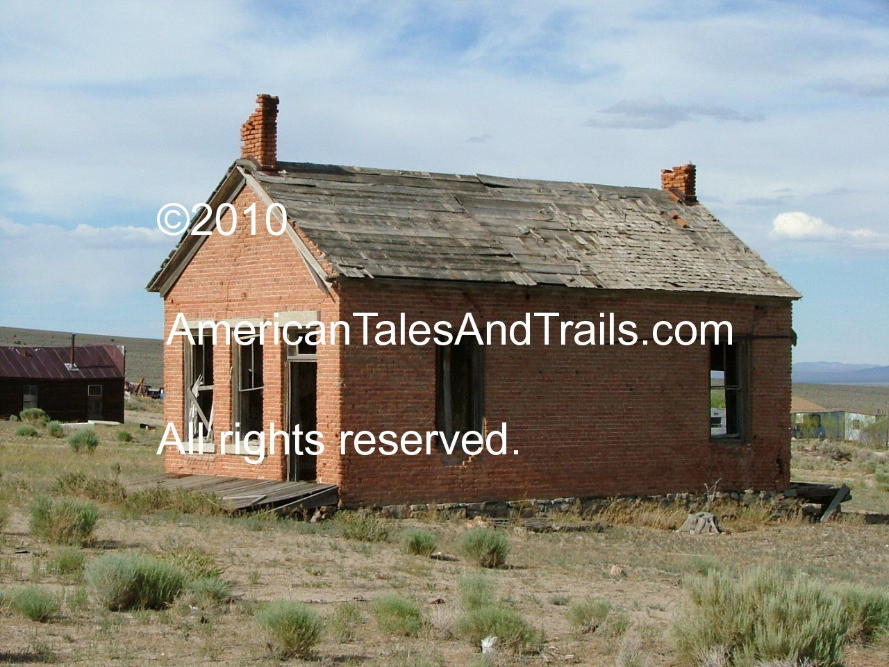 Cherry Creek Ghost Town - Nevada American Tales & Trails