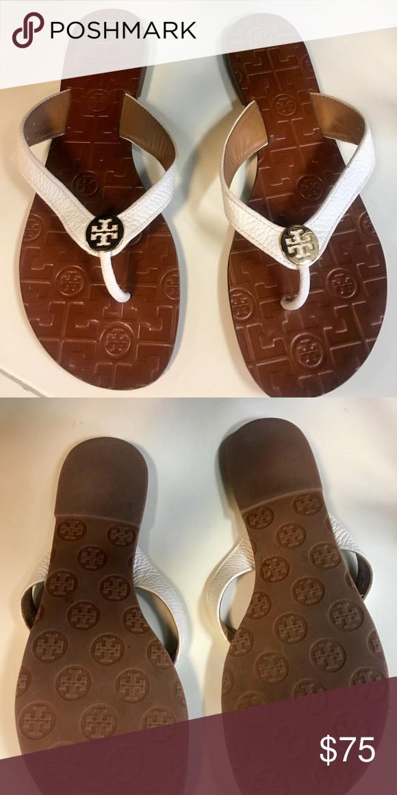 6a77e5c8853 NEW Tory Burch Sienna Flat Thong Sandal Leather sandals