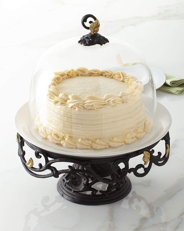 G g collection metal gold leaf cake pedestal gold leaf