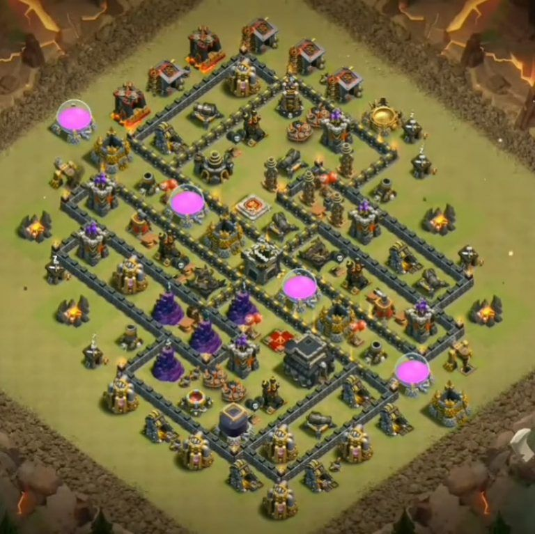 Base War Th 9 Anti 2 Star 2