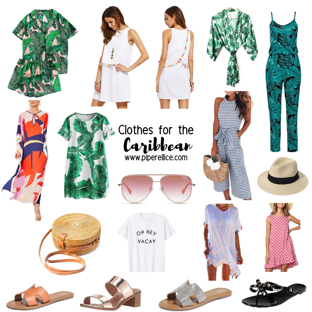 Piper Ellice Clothes For The Caribbean Cruise Clothes Vacation Outfits Palm Prints Caribbean Outfits Cruise Outfits Summer Outfits Women Over 40