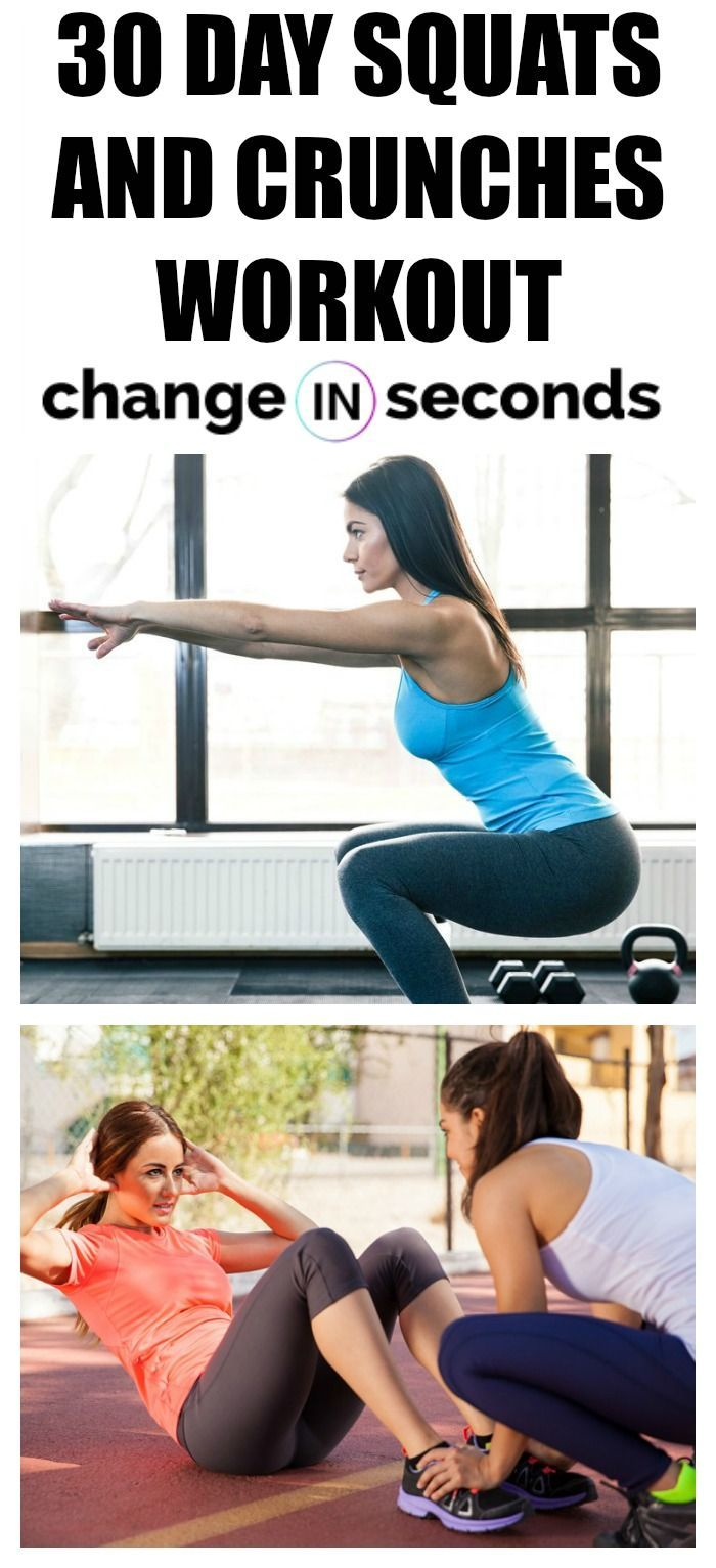 30 Day Squats And Crunches Workout! This Is One Of The Best Workouts To Get Results Fast! Get our pr...