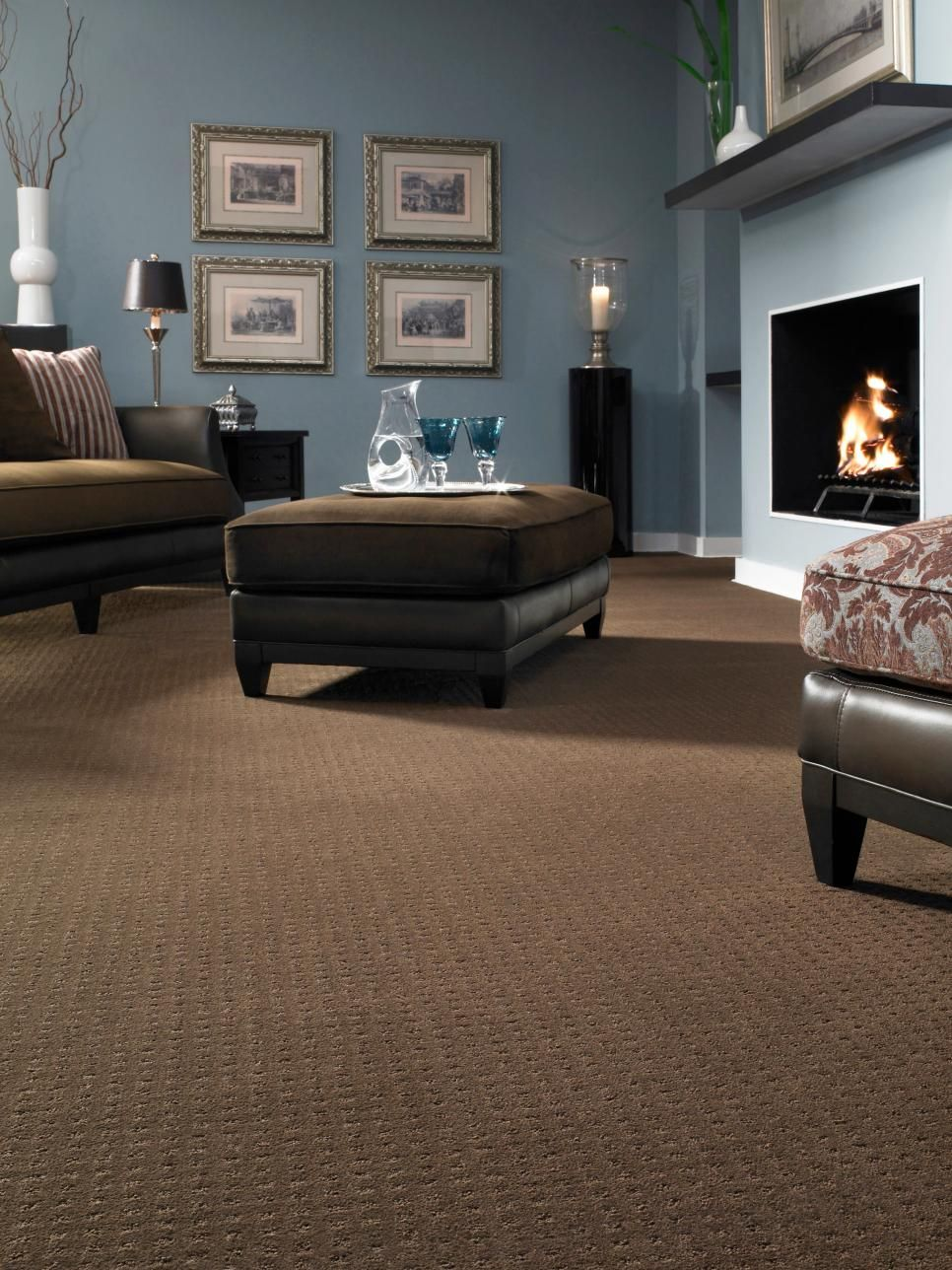 12 Ways To Incorporate Carpet In A Room S Design Brown Ca