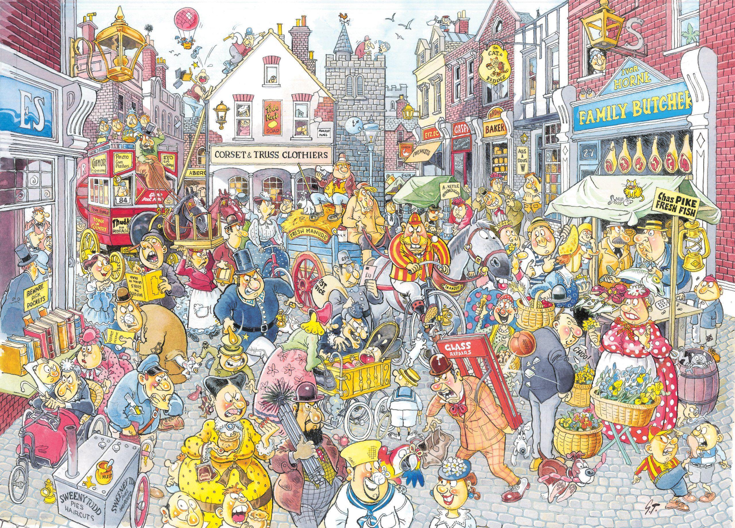 Wasgij Jigsaw Puzzles
