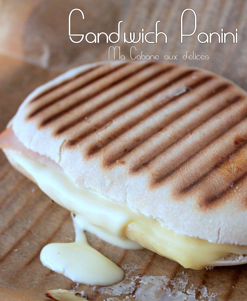 Panini sandwich recettes pain fait maison sandwiches panini sandwiches et recipes - La maison du panini ...