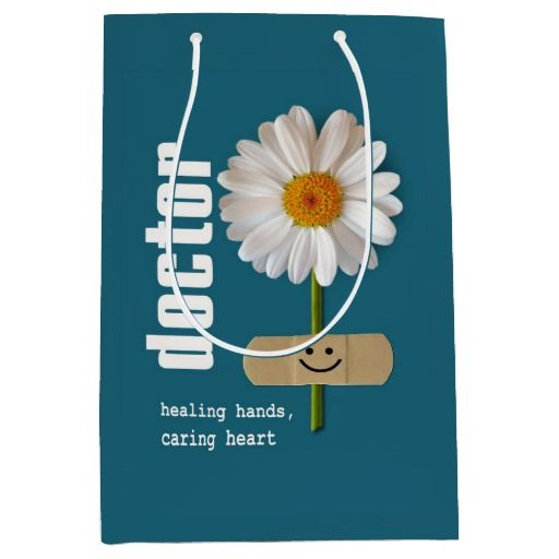 Thank You, Doctor. Custom Doctor's Name Gift Bags | Texts, Bag and ...