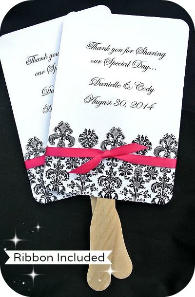 buy personalized wedding favor fans damask coupon code is