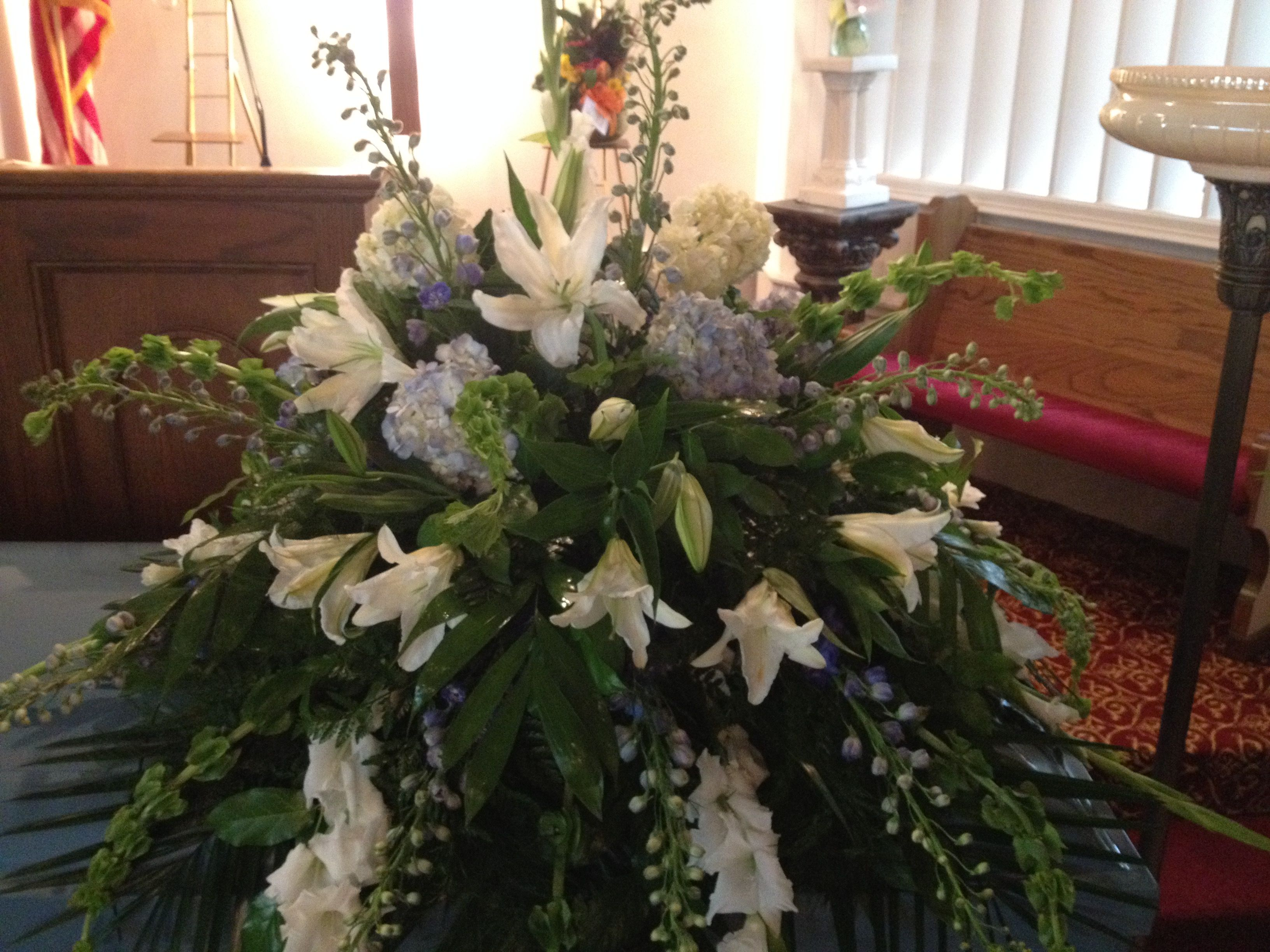 Casket pall number of hydrangeas are significant to