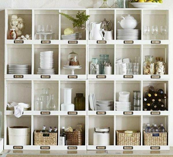 Wandregale Für Küche küchenlösungen für kleine küchen mehr lagerraum küche