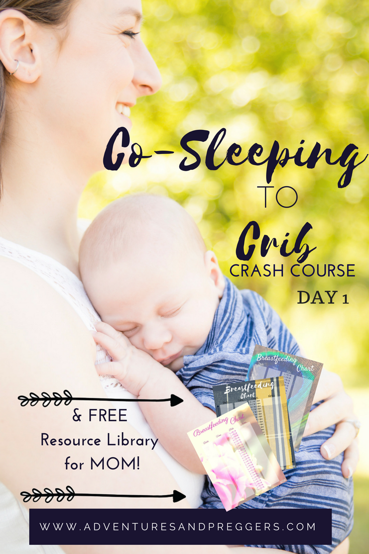Co-Sleeping To Crib Mini Course DAY 1 | Transitioning baby ...