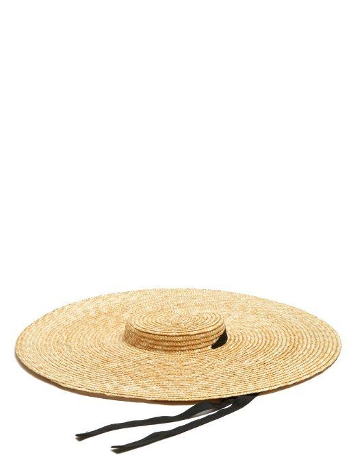 JACQUEMUS Santon Wide-Brimmed Straw Hat.  jacquemus  hat  dad6d3a18112