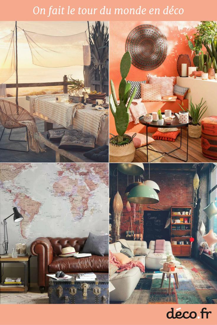 10 intérieurs pour 10 destinations | style design | pinterest