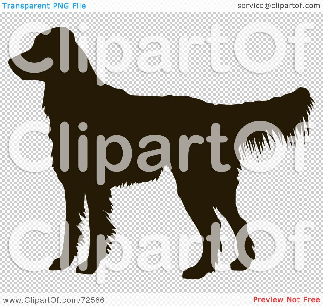 Royalty Free Rf Clipart Illustration Of A Dark Brown Golden