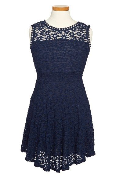 Kiddo 'Daisy' Lace Dress (Big Girls) available at #Nordstrom