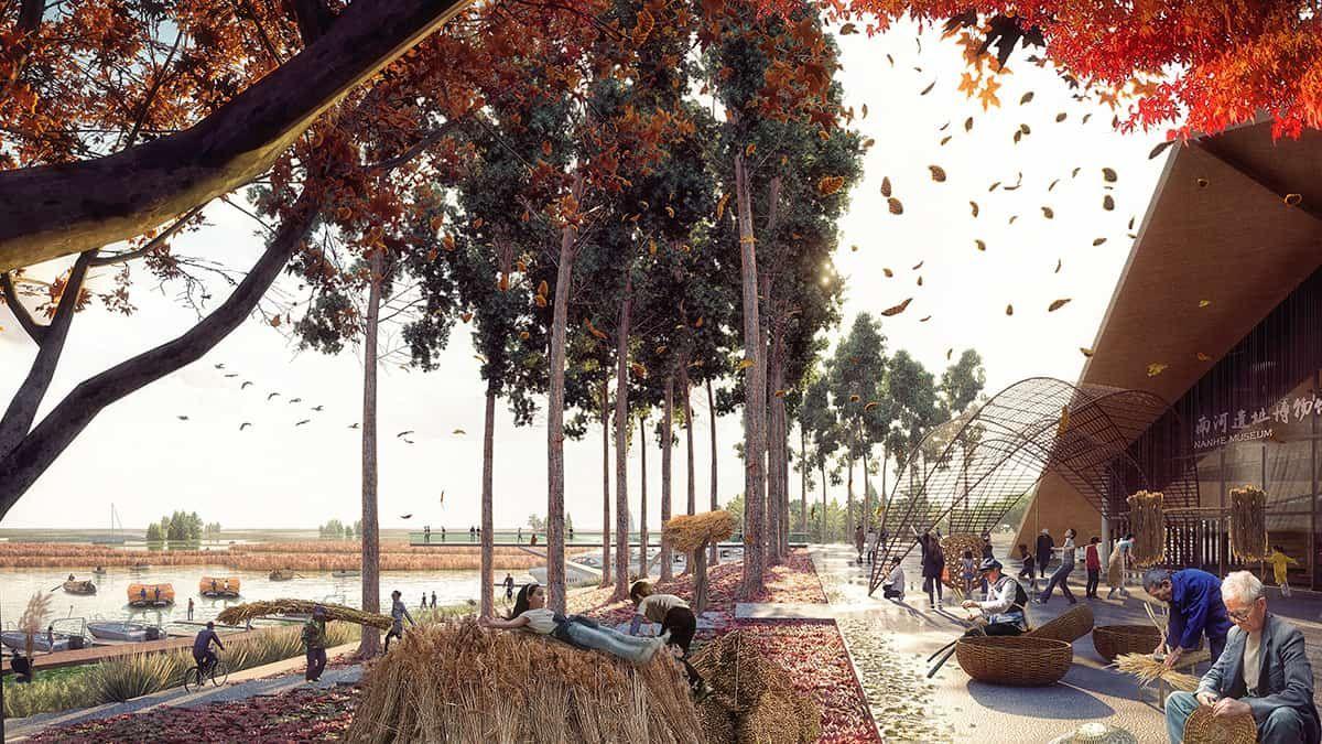 Xiong An New Area Tls Landscape Architecture In 2020 Landscape Architecture Landscape Plans Landscape Design