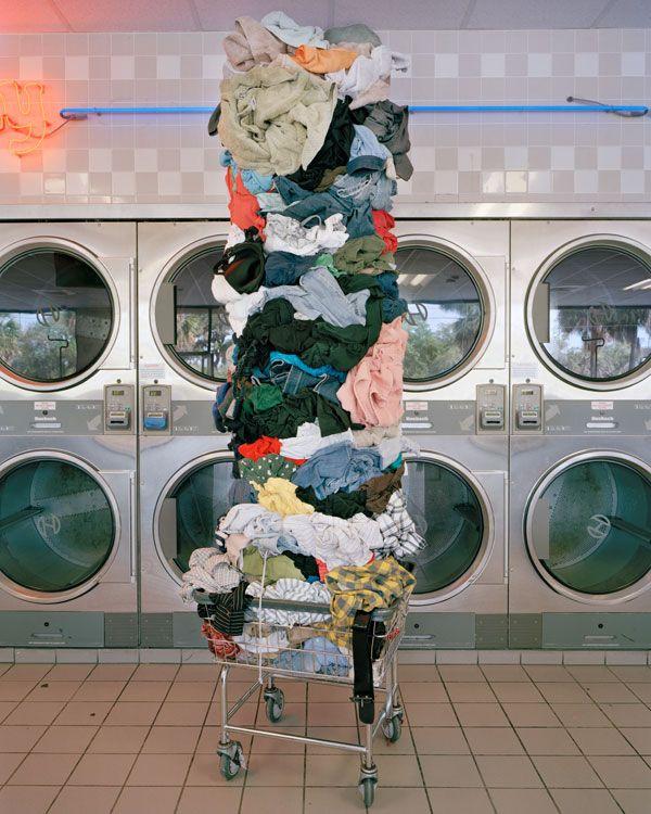 David Welch - Laundry totem